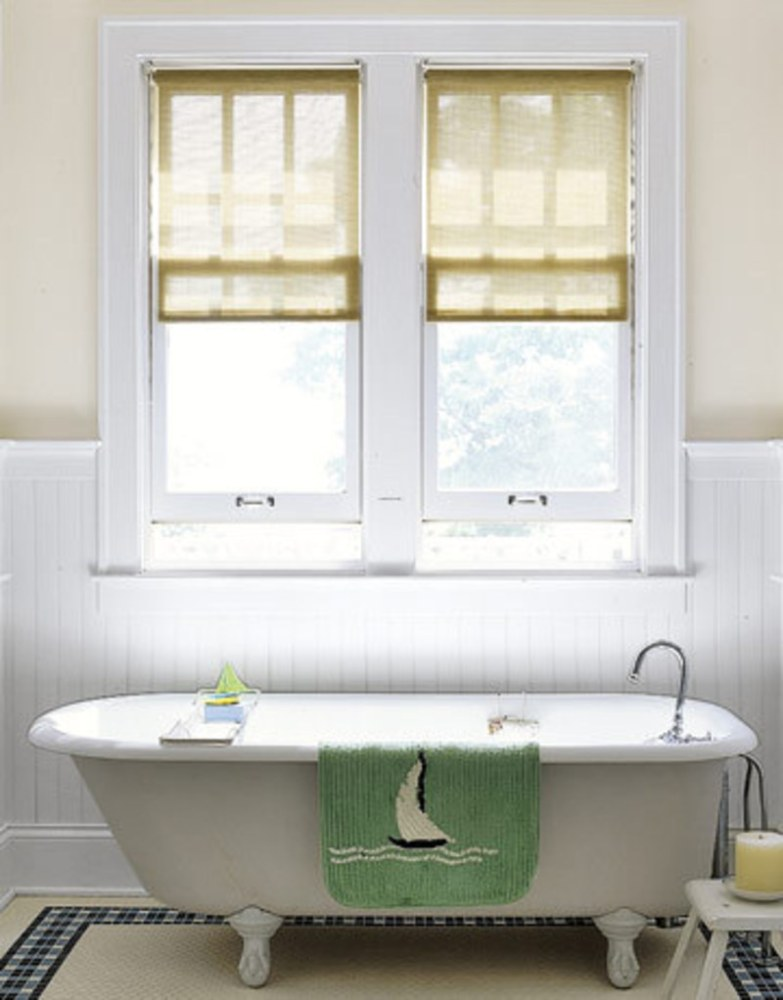 Bathroom Window Shades Ideas