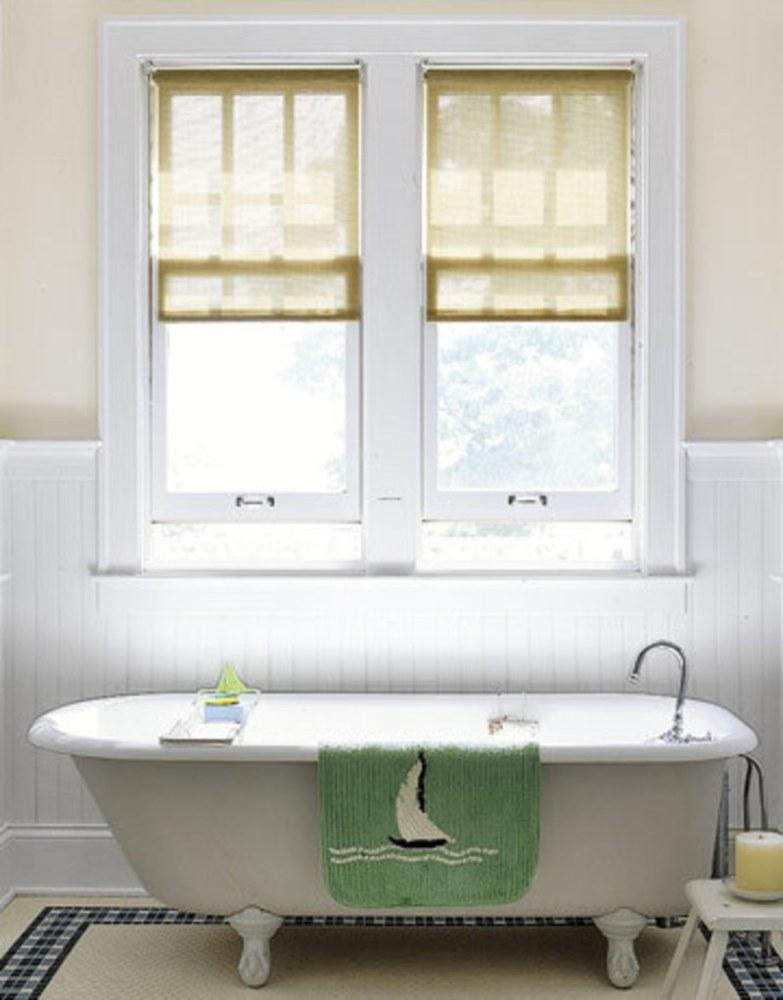 Bathroom Window Shades Ideas