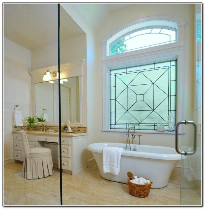 Bathroom Window Treatment Ideas Pinterest