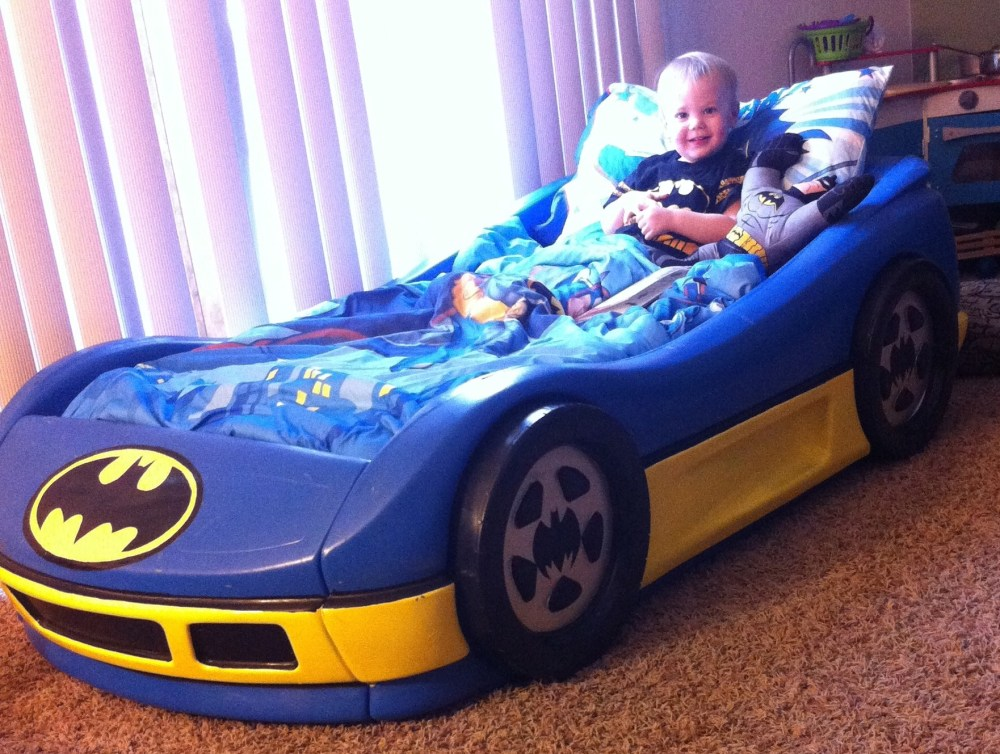 Batman Toddler Bed Frame