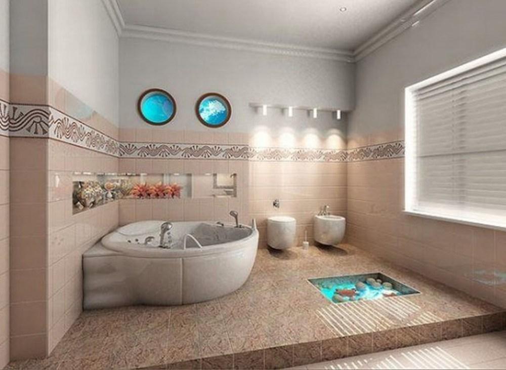 Beachy Bathroom Decorating Ideas