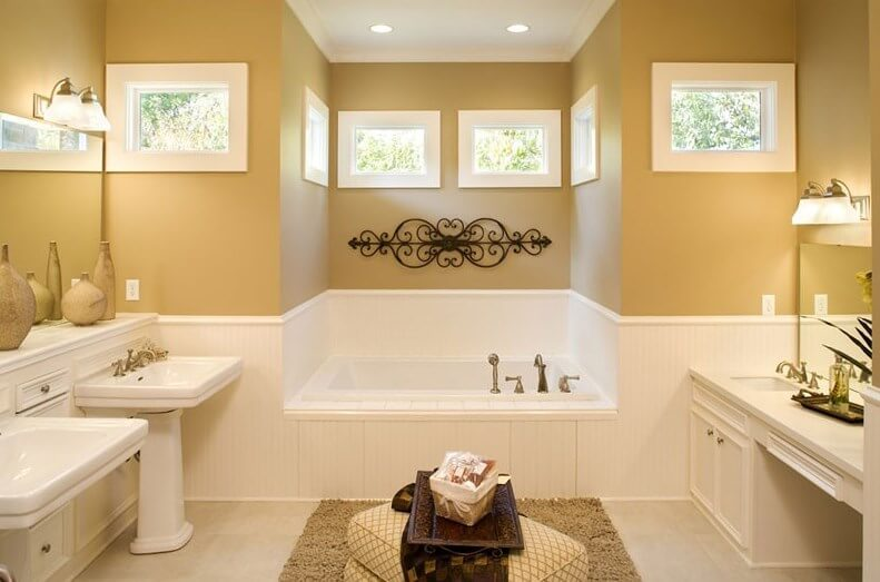 Beadboard Bathroom Paint Ideas