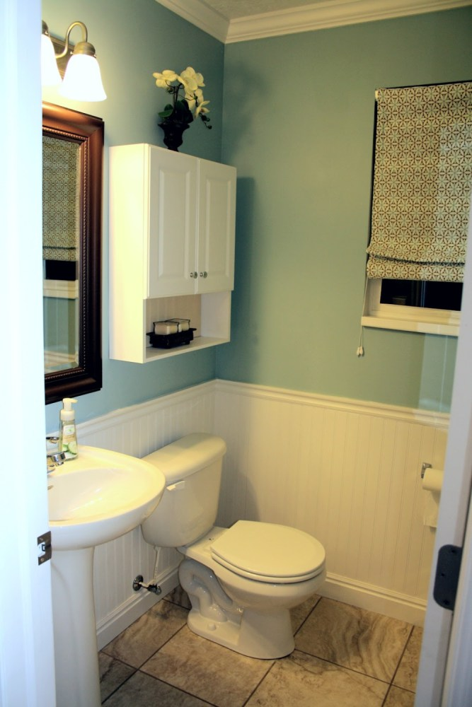 Beadboard Bathroom Small