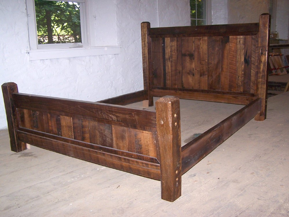 Bed Frame And Headboard Plans