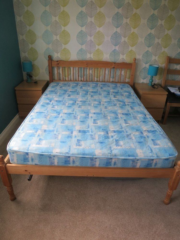 Bed Frame And Mattress Sale