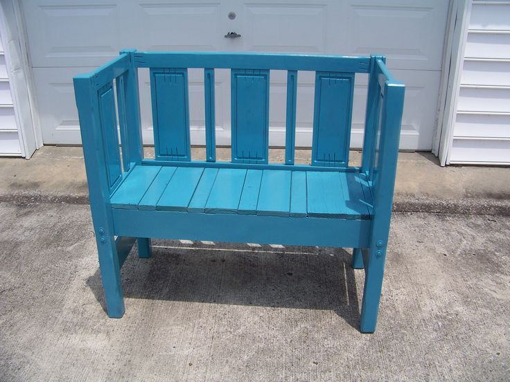 Bed Frame Bench Project