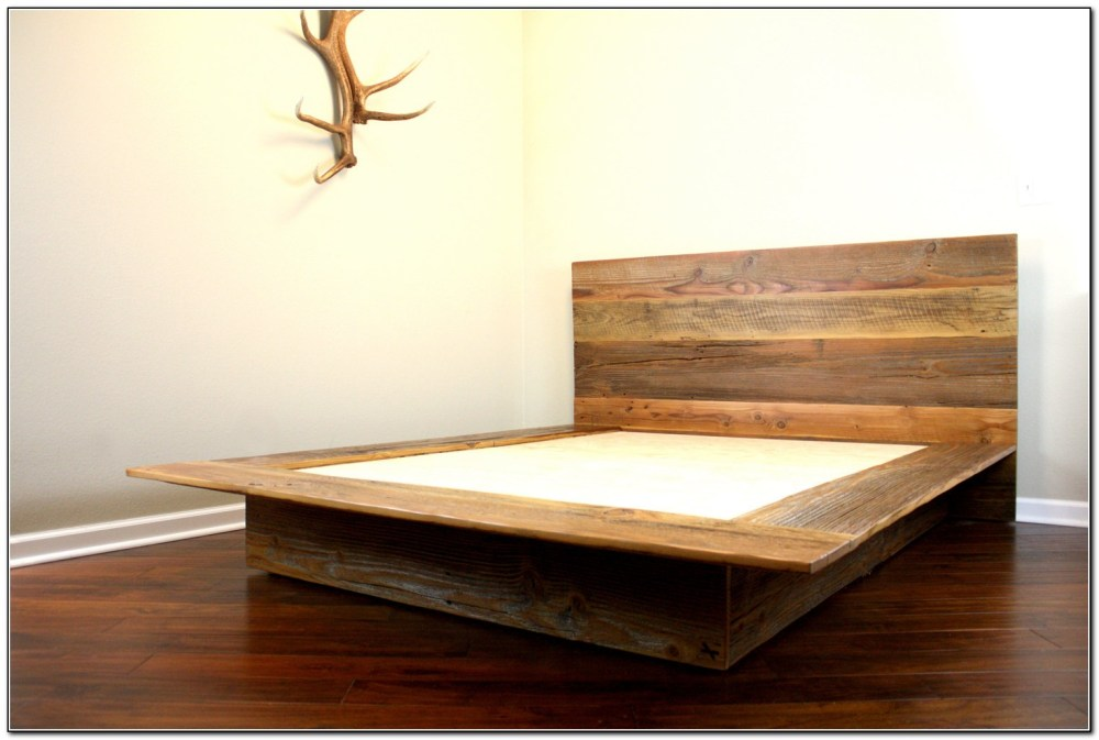 Bed Frame Cal King Wood