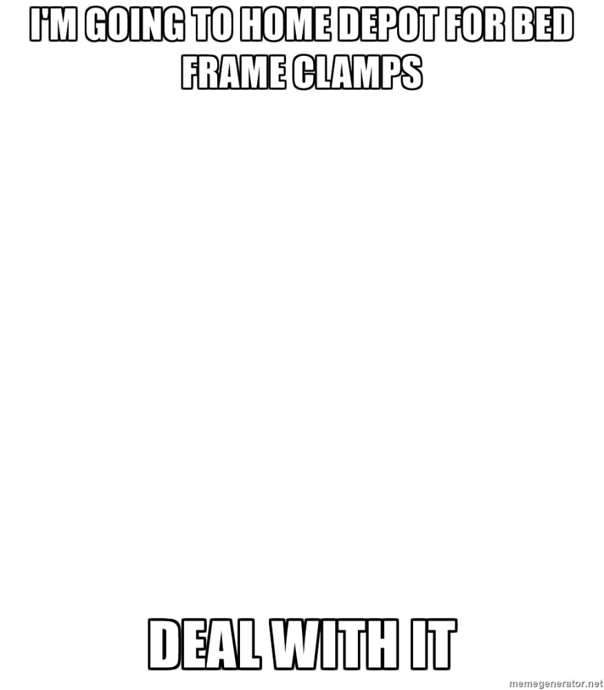 Bed Frame Clamps Home Depot