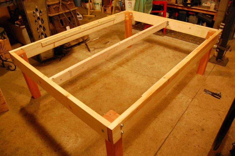 Bed Frame Diy Easy