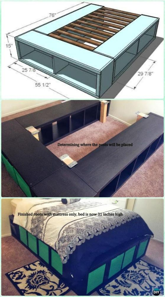Bed Frame Diy Instructions