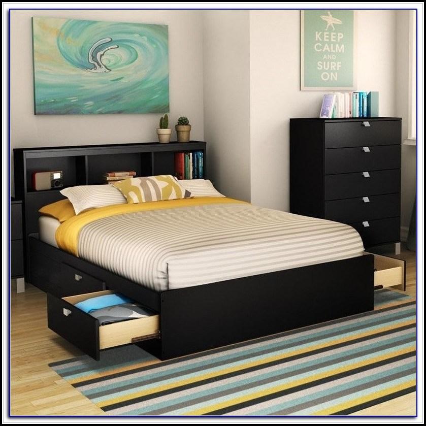 Bed Frame Full Size Black