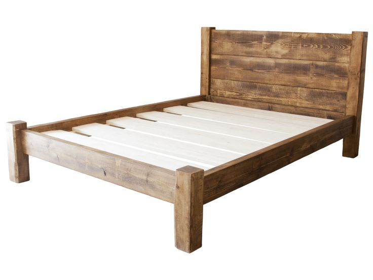 Bed Frame Full Wood