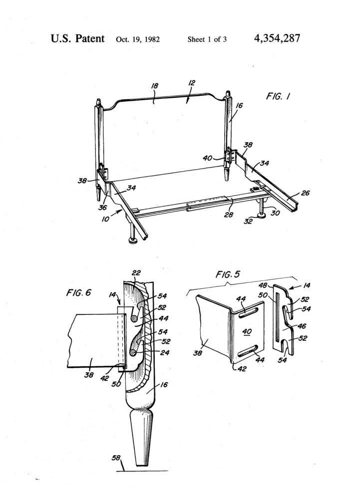Bed Frame Headboard Extender