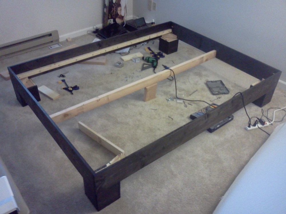Bed Frame Legs Diy