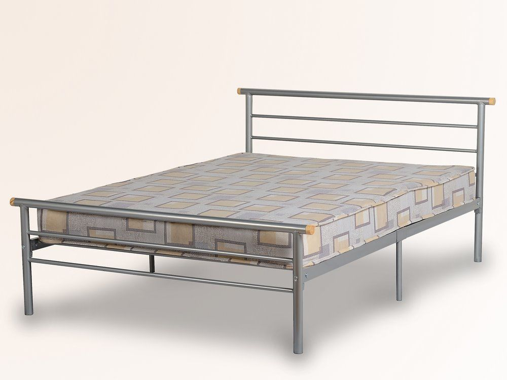 Bed Frame Metal Double