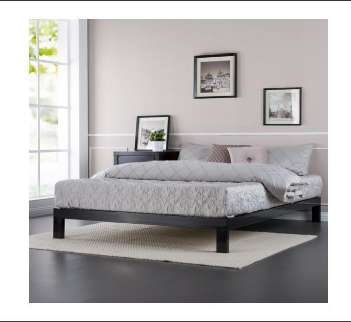 Bed Frame No Box Spring Required