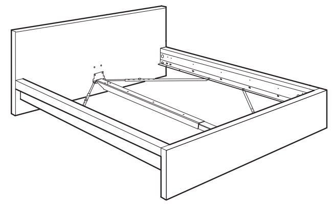 Bed Frame Parts Walmart