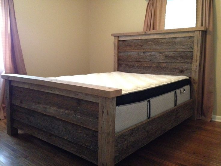 Bed Frame Queen Wood