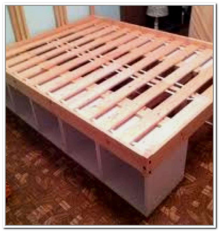 Bed Frame Storage Diy