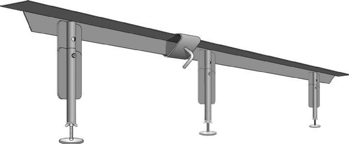 Bed Frame Support Rails
