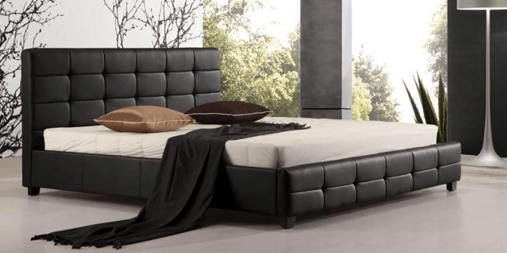 Bed Frame With Slats Box Spring