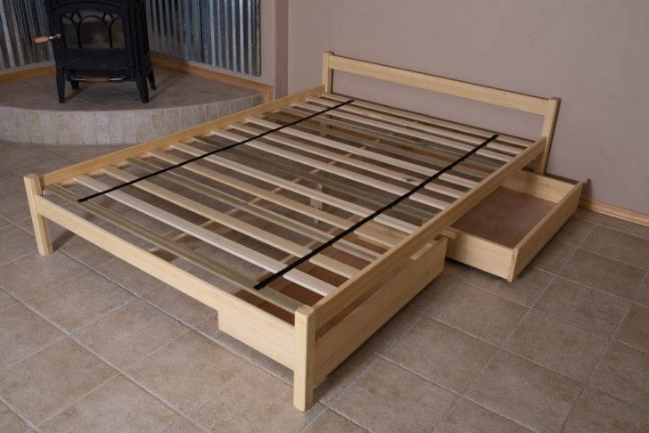 Bed Frame With Slats