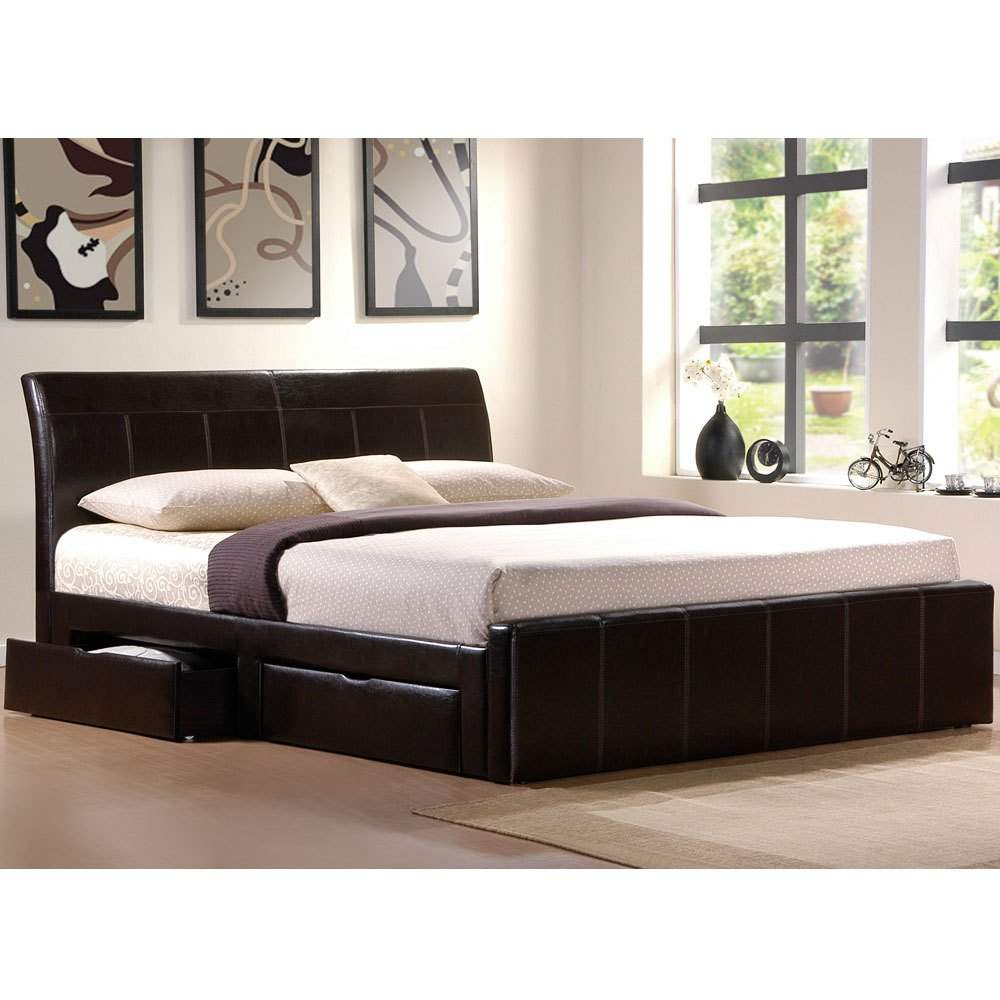 Bed Frame With Storage Cal King
