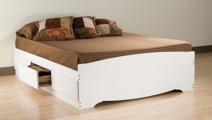 Bed Frame With Storage No Headboard