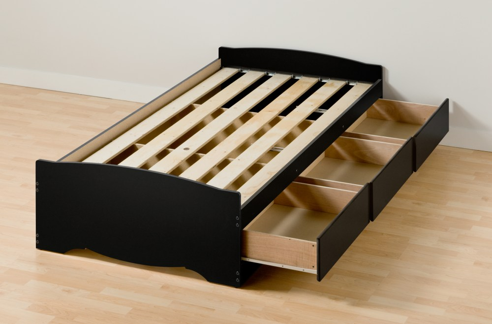 Bed Frame With Storage Twin Xl