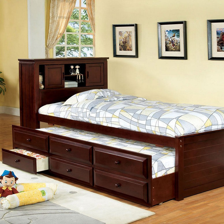 Bed Frame With Storage Twin