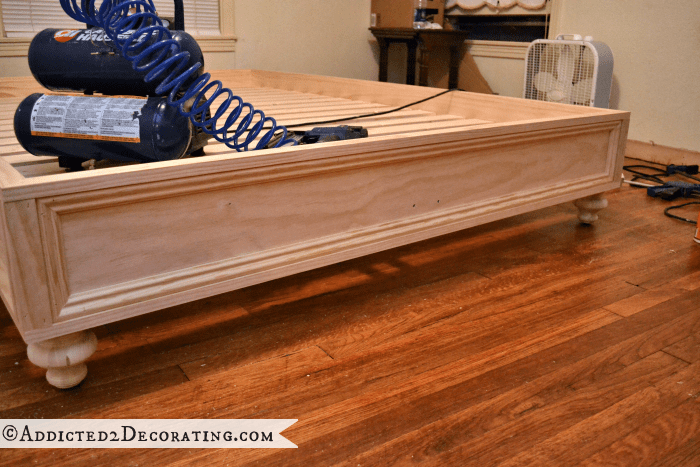 Bed Frame Wood Diy