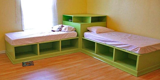 Bed Frames With Drawers Plans