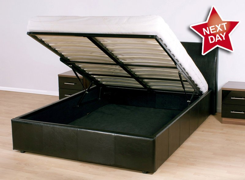 Bed Frames With Storage King