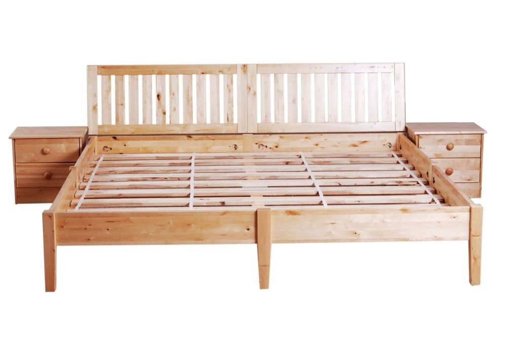Bed Frames Wooden Queen