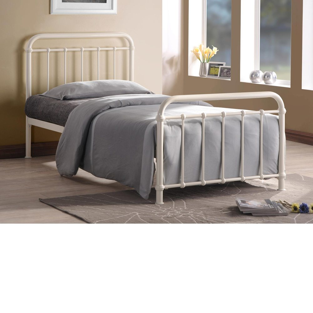 Bed Metal Frame White