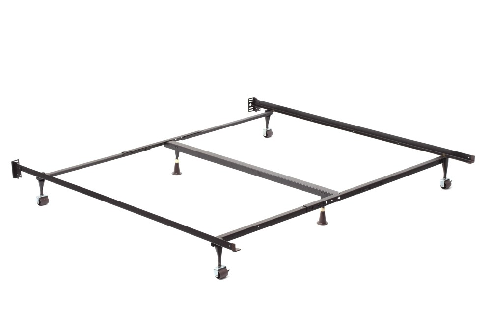 Bed Metal Frame With Wheels