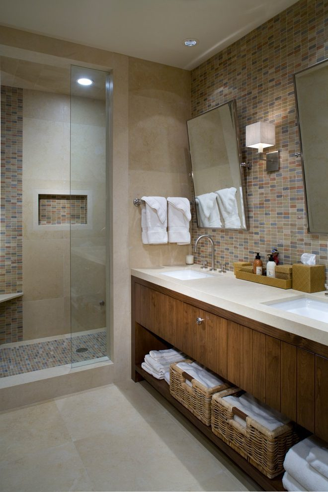 Beige Bathroom Decorating Ideas