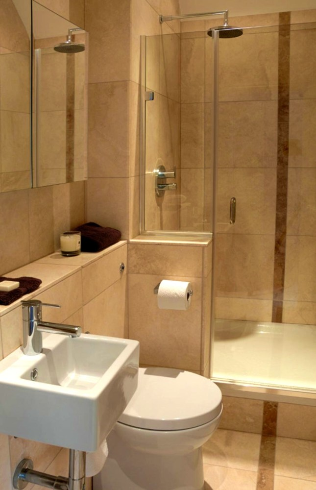 Beige Bathroom Suite Ideas
