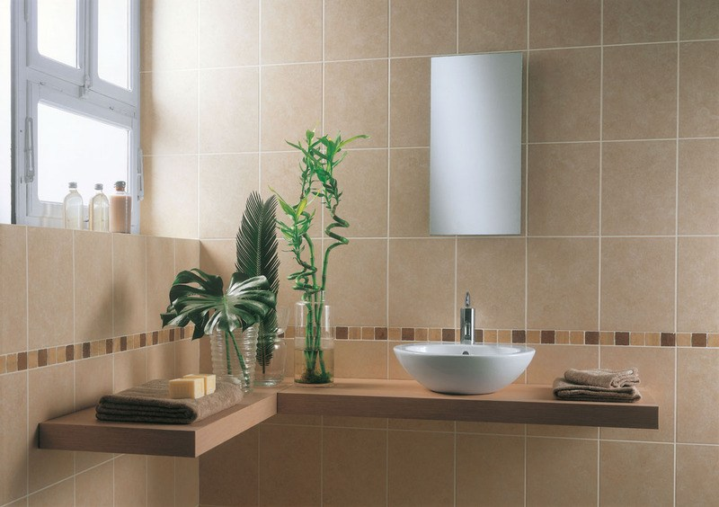 Beige Bathroom Tile Ideas