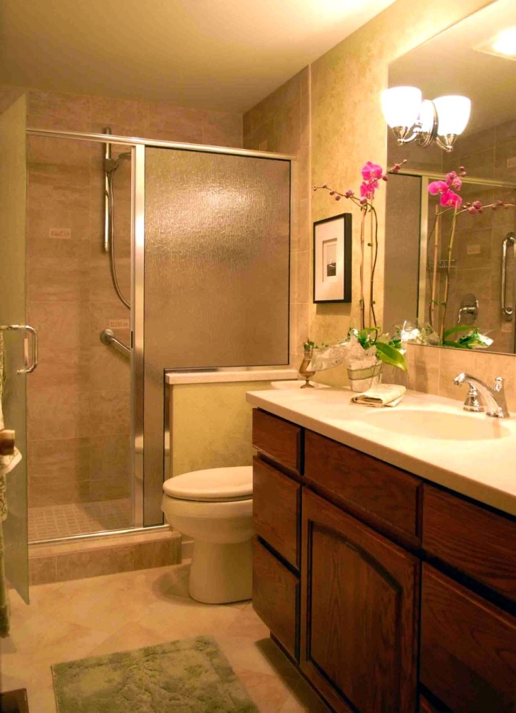 Beige Tub Bathroom Ideas