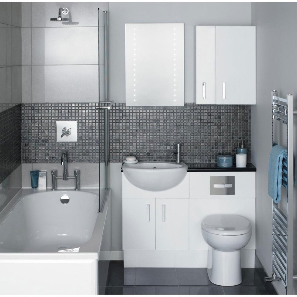 Black And White Bathroom Designs Traditional