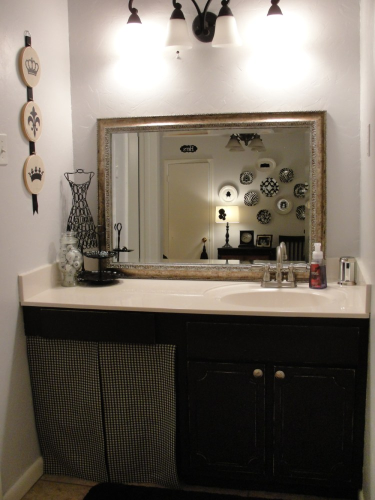 Black Bathroom Cabinet Ideas
