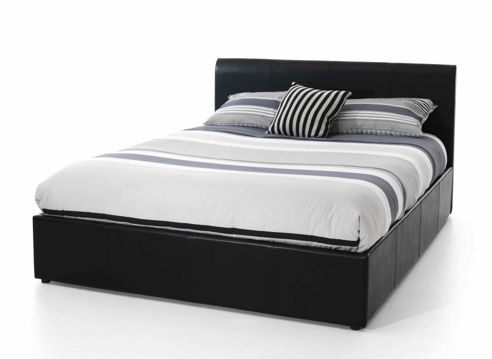 Black Bed Frame Full