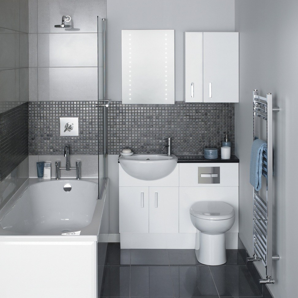 Black Gray And White Bathroom Ideas