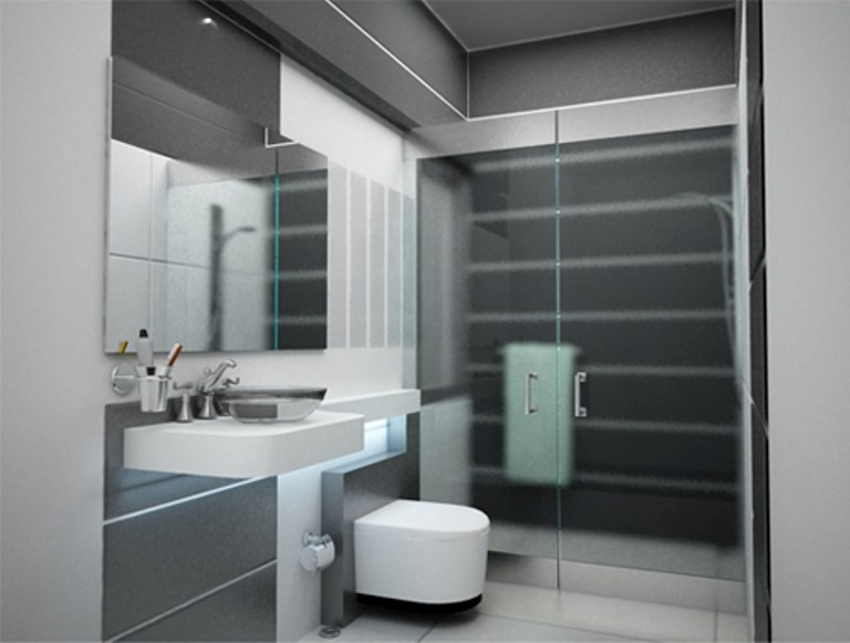 Black Grey And White Bathroom Ideas