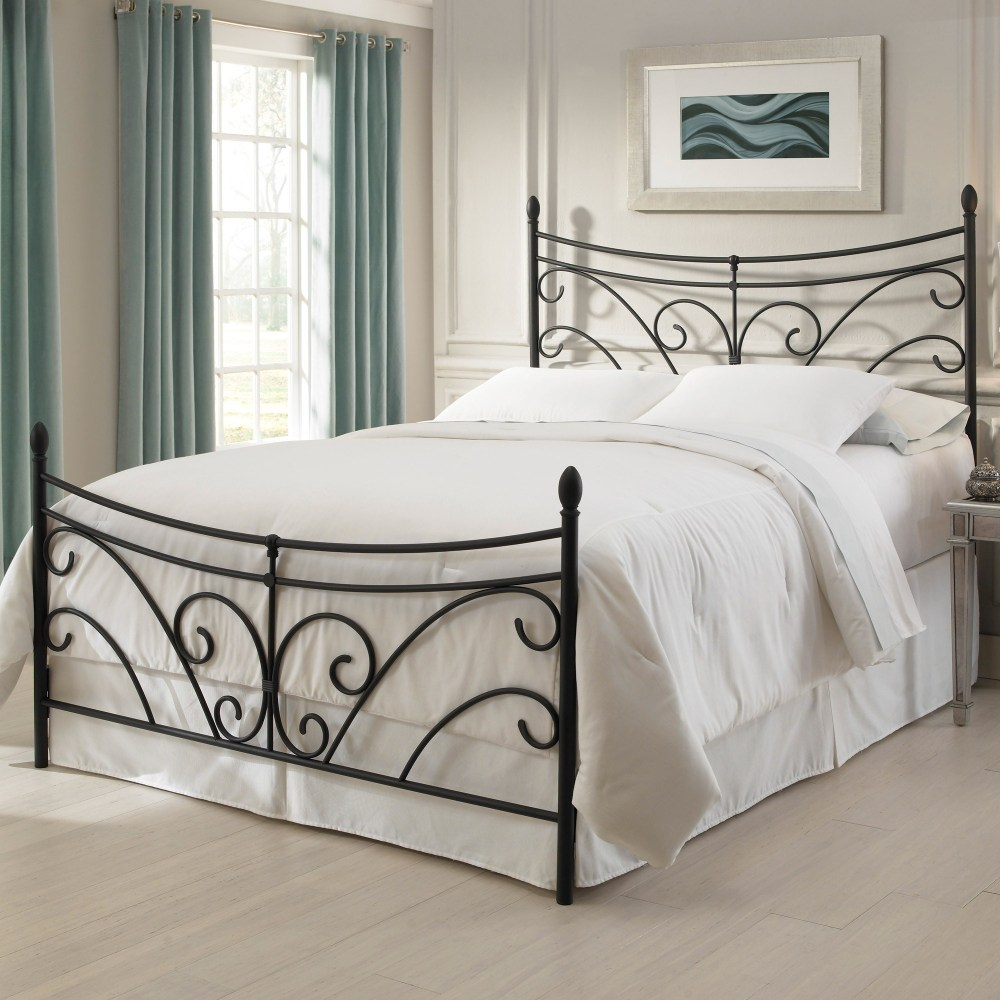 Black Iron Twin Bed Frame