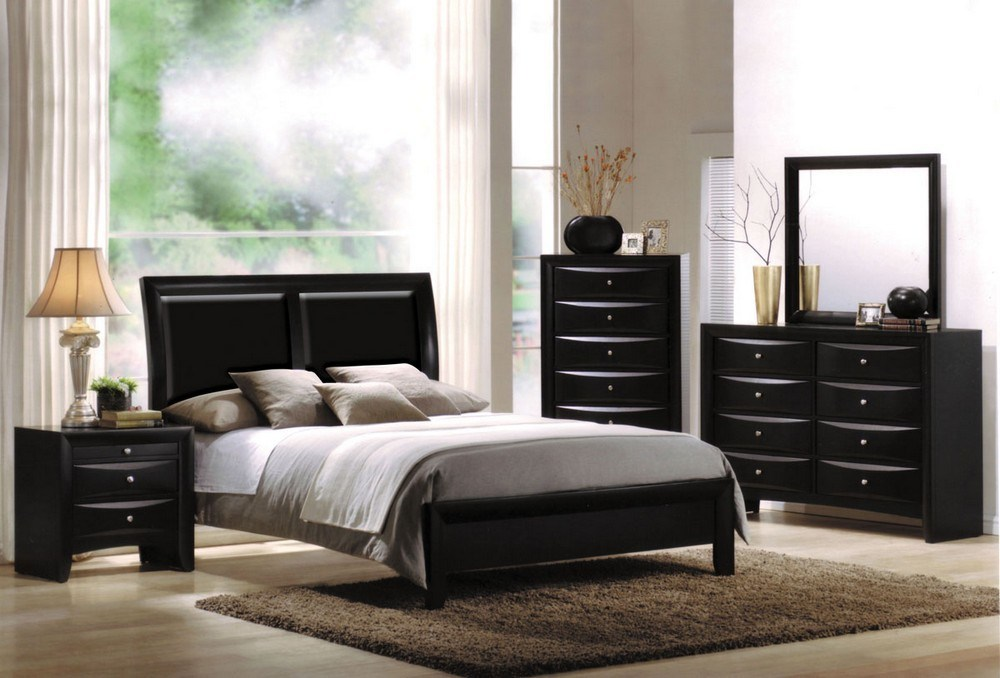 Black King Bed Frame