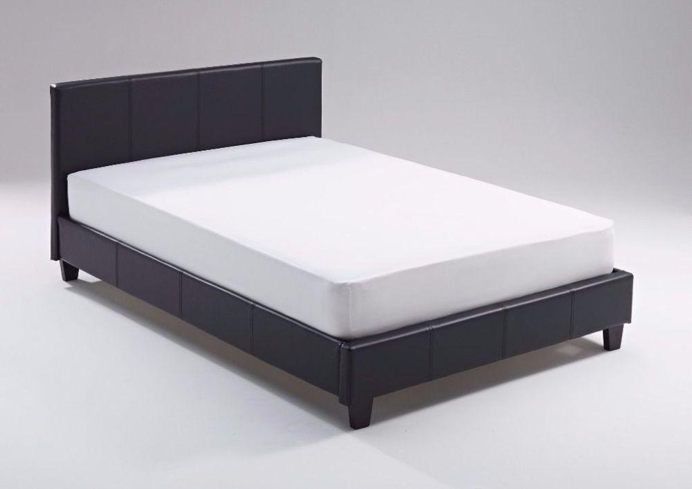 Black King Single Bed Frame