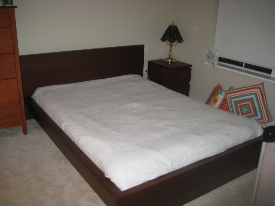 Black Malm Bed Frame Full