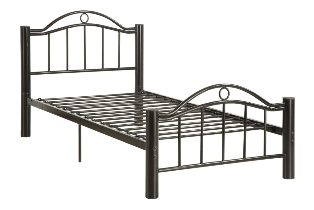 Black Metal Full Bed Frame